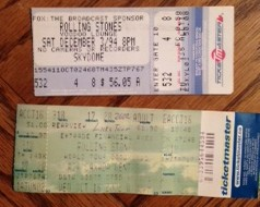 Rolling Stones Dad tickets