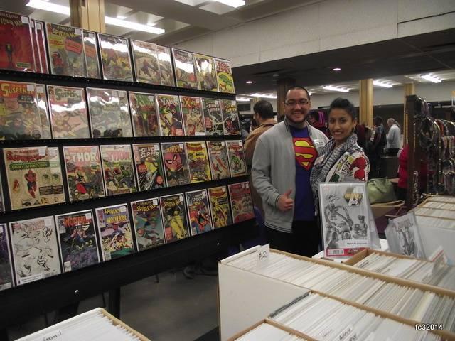 Comic Vendors - The Comic Shop