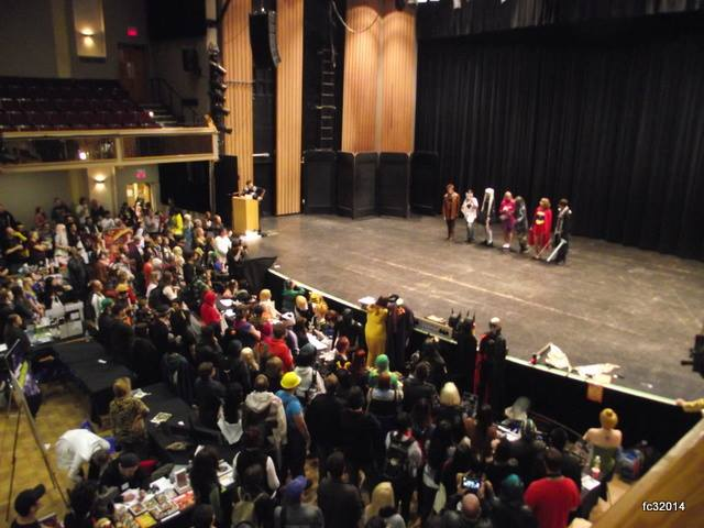 Cosplay Contest Contestants