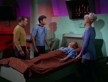 Star Trek Sickbay with Medical Scanner over bed