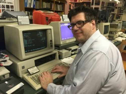 Personal Computer Museum's Syd Bolton Programming the IBM 5160