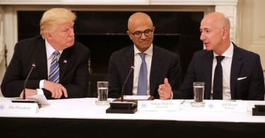 Trump and tech leaders