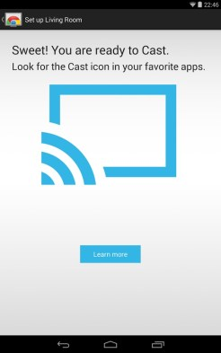 Application Google Chromecast Android 3