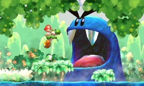 Yoshis New Island - Nintendo 3DS - Gameplay 2