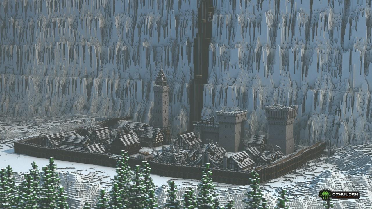 Le Chteau Noir De Game Of Thrones Reconstruit De Belle