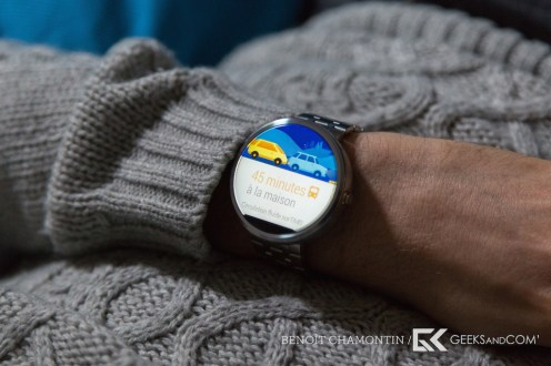 Motorola Moto 360 - Android Wear - Test Geeks and Com -8