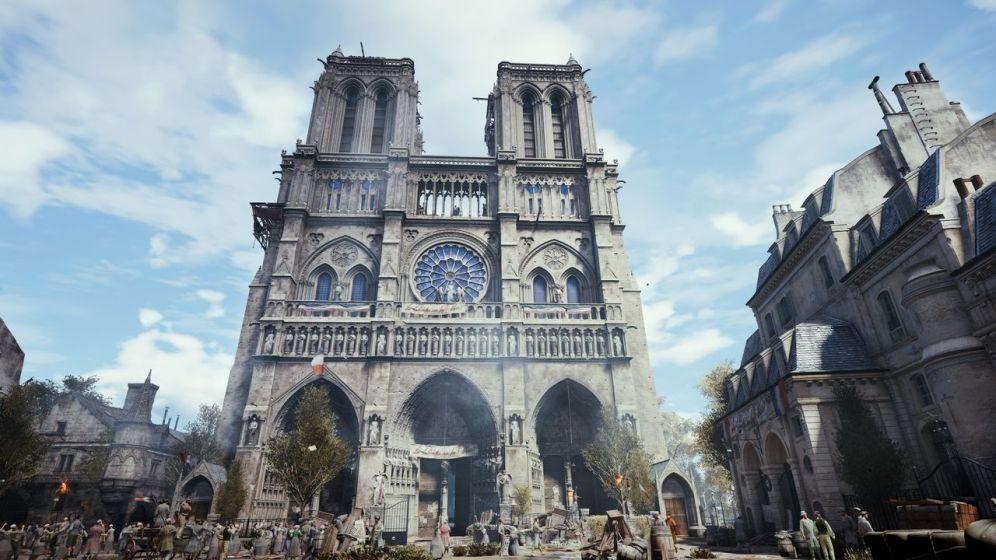 Assassins Creed Unity - Ubisoft - Notre Dame