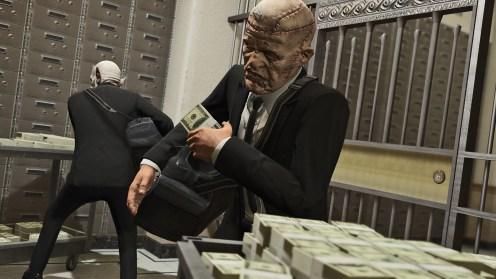 GTAV PS4 Heists braquages 1