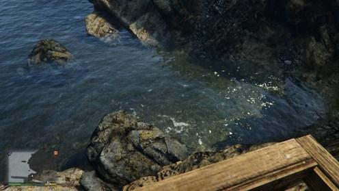 Le rendu de l'eau est simplement magnifique