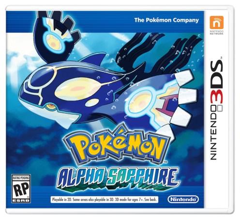 Pokemon Alpha Sapphire - Nintendo 3DS packaging