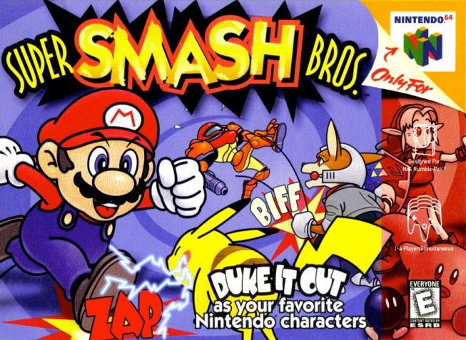 Super Smash Bros - Nintendo 64