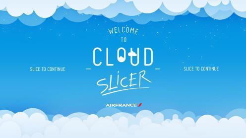 Cloud Slicer - Air France