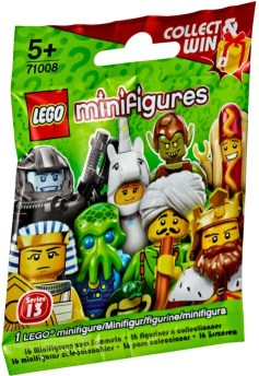 Lego Minifigures Serie 13 Bag