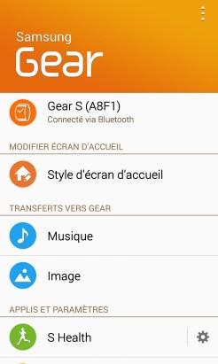 Samsung Galaxy Gear S - Gear Manager