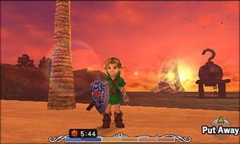 The Legend of Zelda Majoras mask 3d - Nintendo 3DS - Gameplay 1