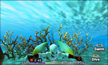 The Legend of Zelda Majoras mask 3d - Nintendo 3DS - Gameplay 2