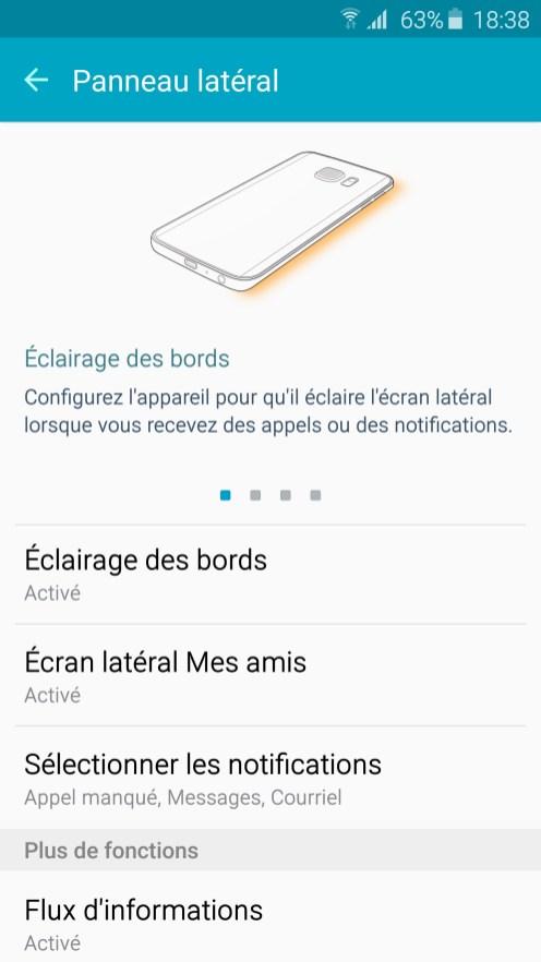 Galaxy S6 Edge Ecran Lateral 01