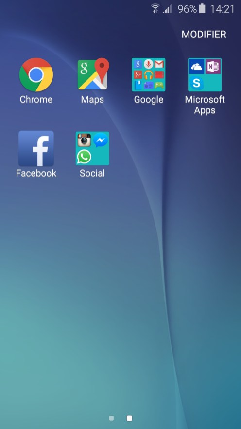 Applications Galaxy S6
