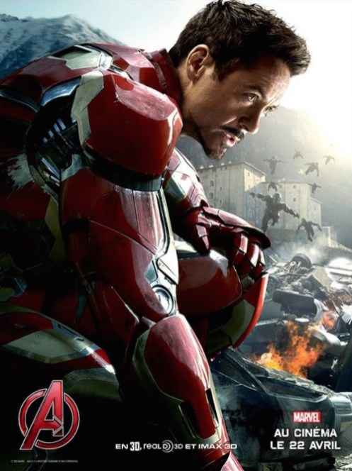 Marvel avengers ere ultron - ironman