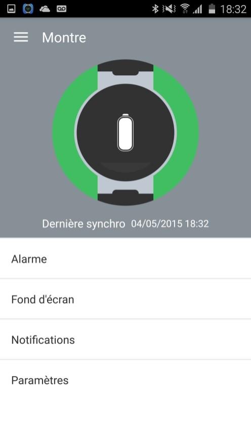 Alcatel Watch Application Mobile 09