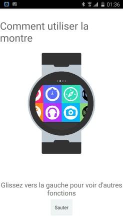 Alcatel Watch Initialisation 01
