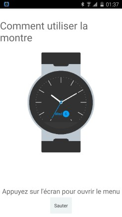 Alcatel Watch Initialisation 02