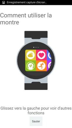 Alcatel Watch Initialisation 03