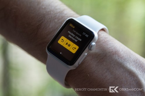 Application illico - Apple Watch-7