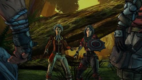 Athena et Fiona, le maître et l'apprenti
