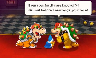 Mario & Luigi Paper Jam Nintendo 3DS Bowser