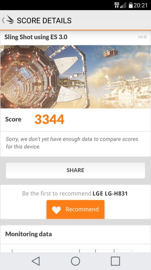 LG G5 3DMark Sling Shot 3.0