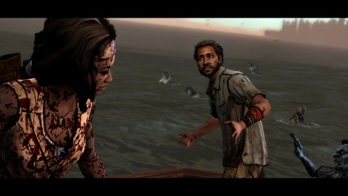 The Walking Dead Michonne - Ep. 1, In Too Deep (2)