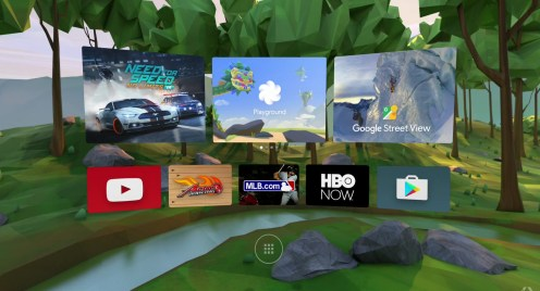 Google Daydream - Magasin Applications