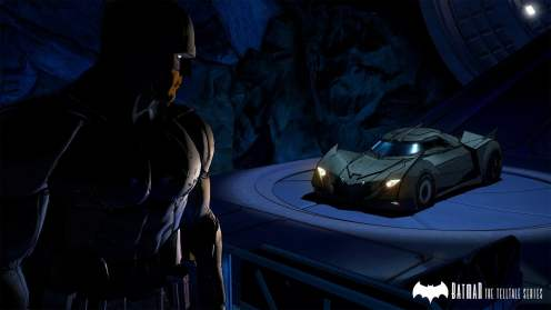 Batcave Batmomile Batman Telltale