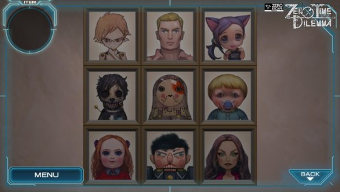 Zero Time Dilemma - Group Portrait