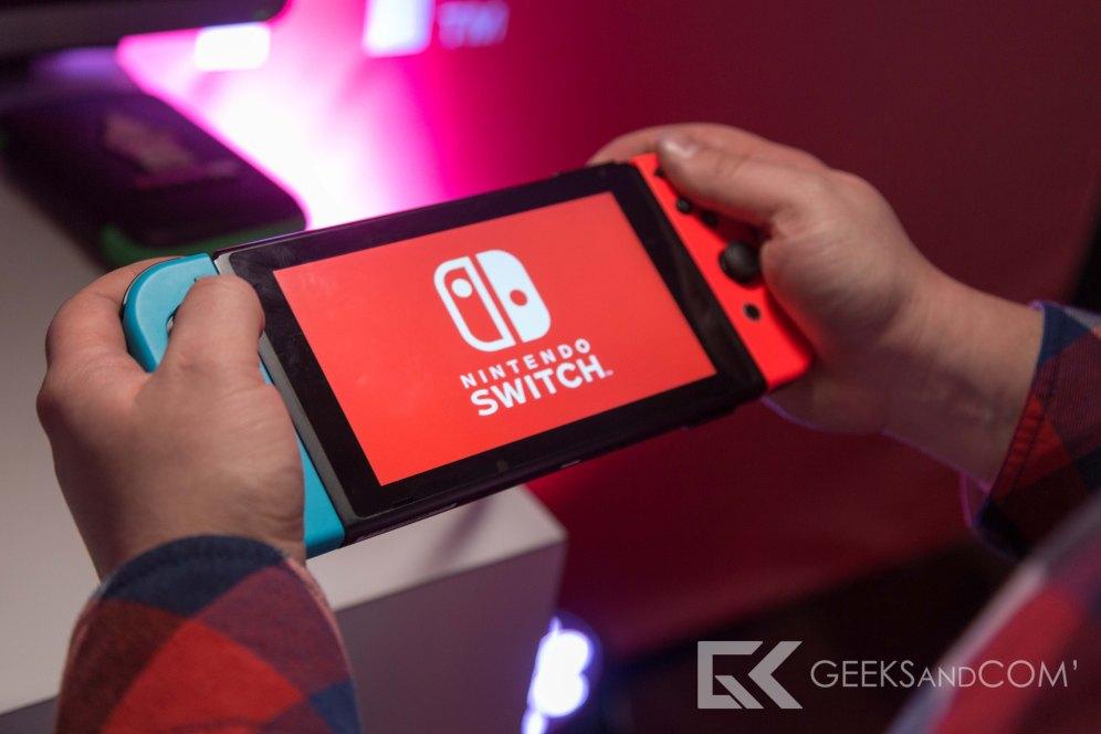Nintendo Switch - Premiere Prise en main - Toronto-18