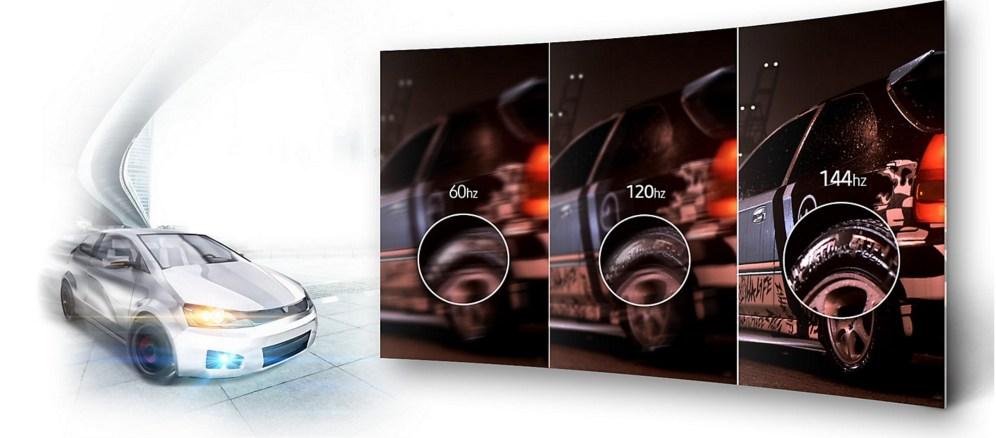 Samsung CFG70 144 Hz