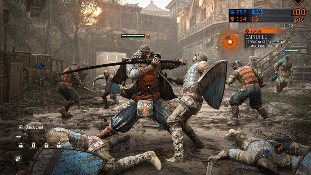 For Honor - mode Dominion