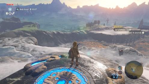 The Legend of Zelda Breath of the Wild Ice