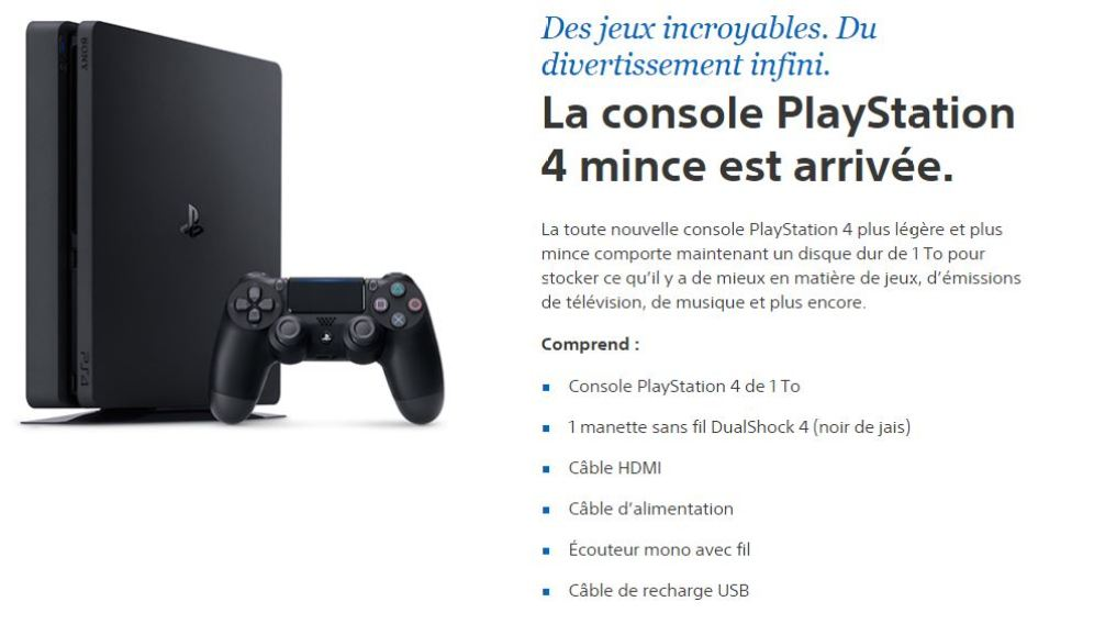 Sony PS4 Slim 1to