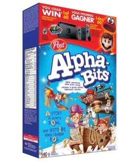 POST Nintendo - Alpha Bits 3D