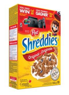 POST Nintendo - Shreddies originale
