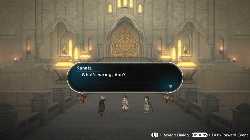 Lost Sphear - Dialogue