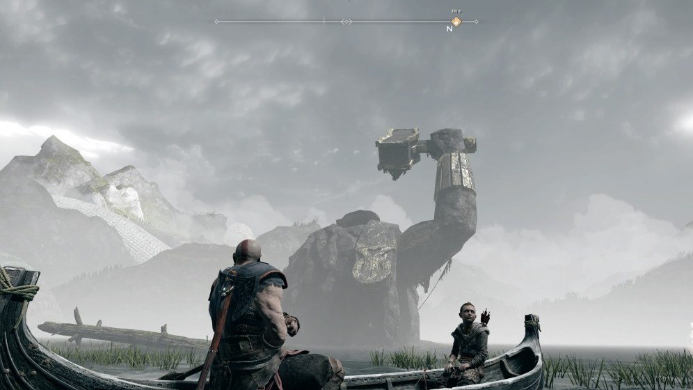 God of War Bateau 2