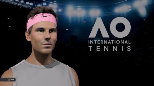 AO Tennis - Rafael Nadal Face Shot