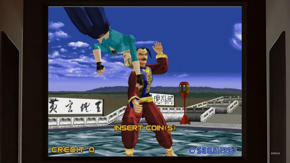 ...ou même à Virtua Fighter !