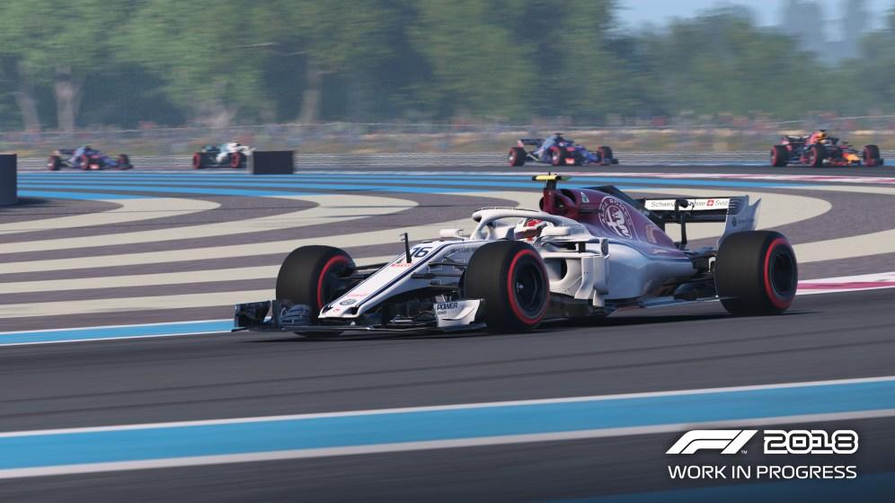 F1 2018 - Screen 2