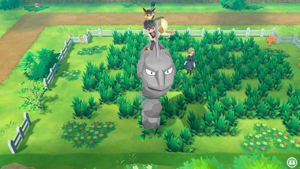 Pokémon Let's Go Evoli Onix