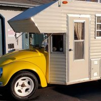 Check Out The Stunning 1969 VW Beetle Camper 'Super Bugger'