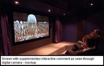 Cinema interactive